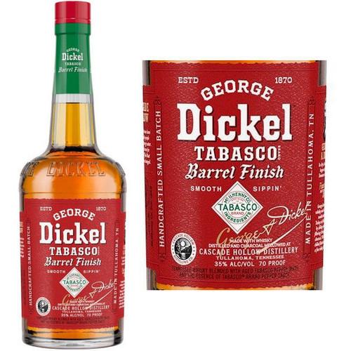 George Dickel Tabasco Brand Barrel Finish Whisky 750ml