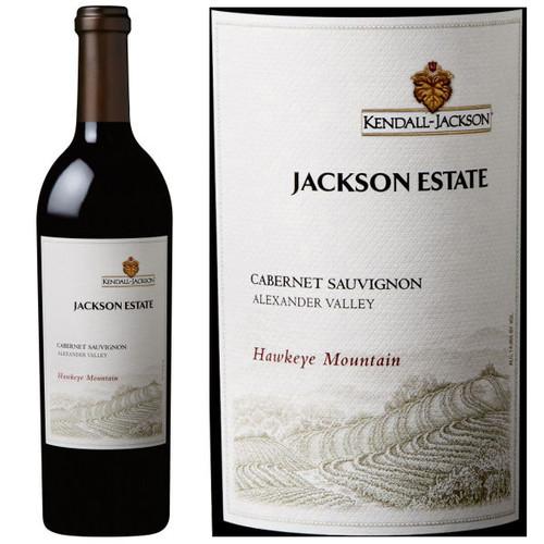 Kendall Jackson Jackson Estate Hawkeye Mountain Alexander Cabernet