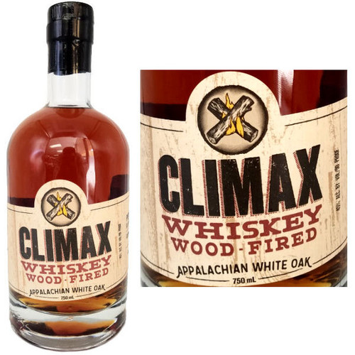 Climax Whiskey Wood Fired Appalachian White Oak Moonshine
