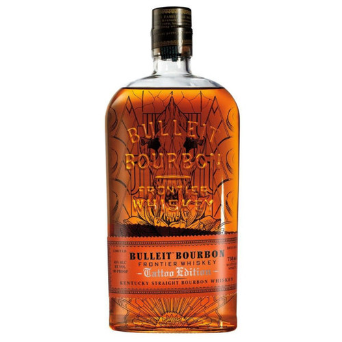 Bulleit Tattoo Edition Kentucky Straight Bourbon Frontier Whiskey 750ML