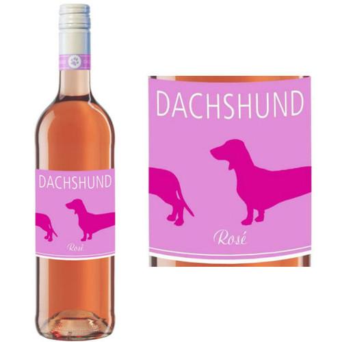 Dachshund Rose Pinot Noir Qualitatswein Rheinhessen