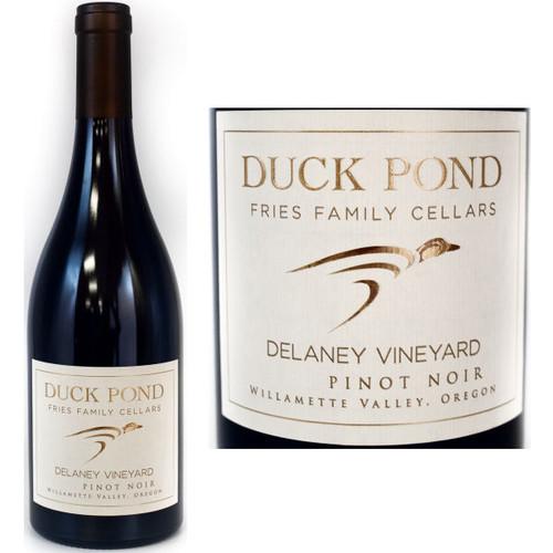Duck Pond Delaney Vineyard Willamette Pinot Noir Oregon