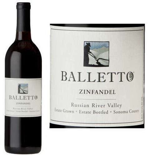 Balletto Russian River Zinfandel
