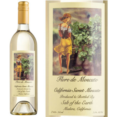 Salt of the Earth Flore de Moscato California Sweet Wine