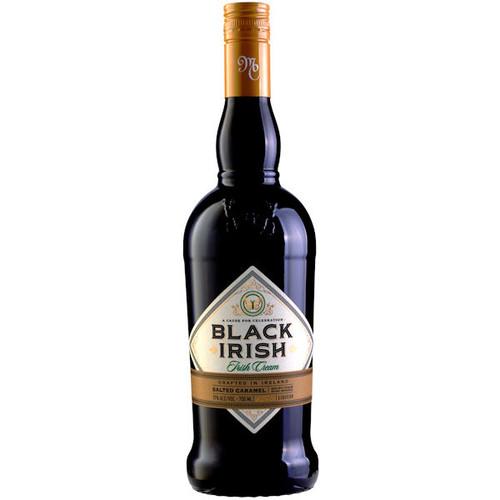 Black Irish Salted Caramel Irish Cream Liqueur 750ml