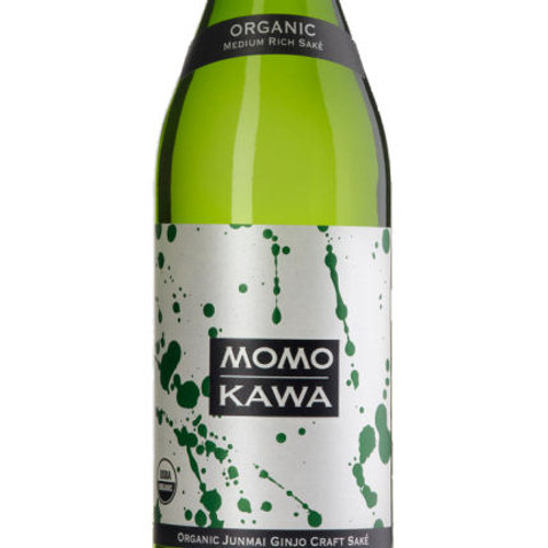 Momokawa Organic Junmai Ginjo Sake