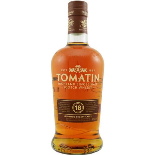 Tomatin 18 Year Old Highland Single Malt Scotch 750ML