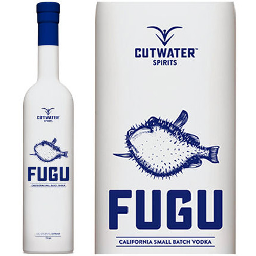 Cutwater Spirits Fugu California Small Batch Vodka 750ml