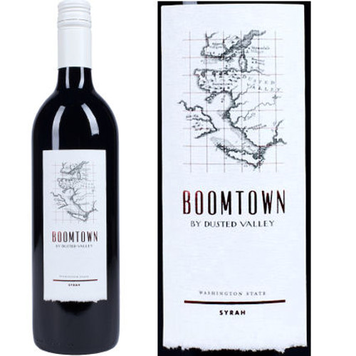 Boomtown By Dusted Valley Washington State Syrah
