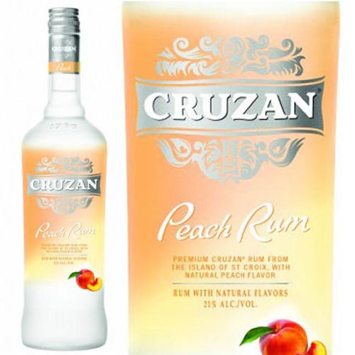 Cruzan Peach Rum 750ml