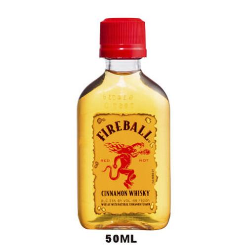 50ml Mini Fireball Cinnamon Whisky