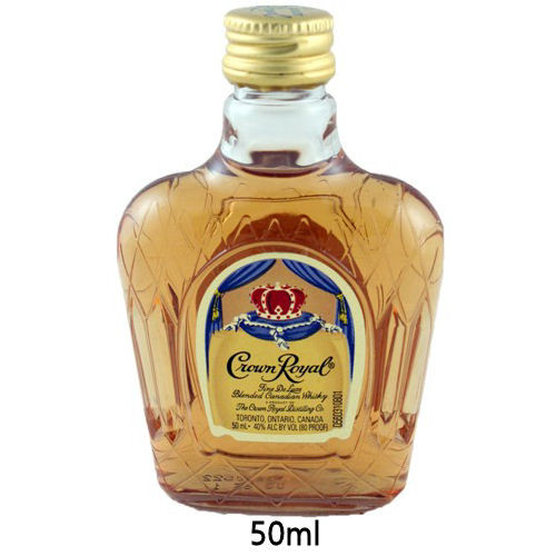 50ml Mini Crown Royal Blended Canadian Whisky
