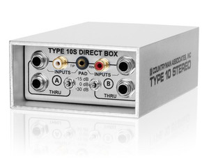 Countryman DI10S 2 channel DI inputs