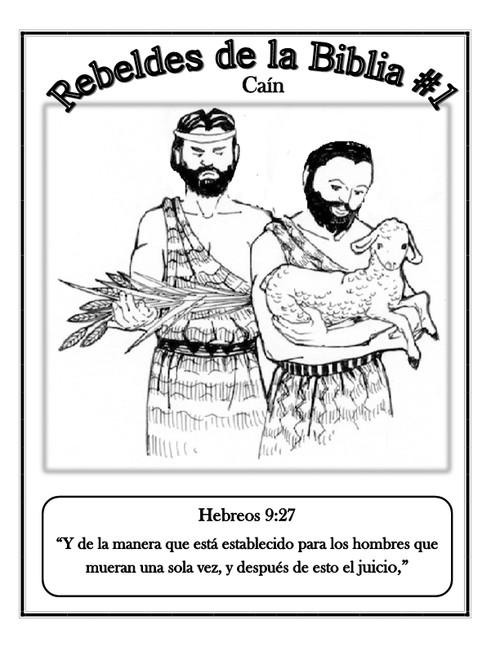 Rebels of the Bible w/Coloring Book/Rebeldes de la Biblia con Libro ...
