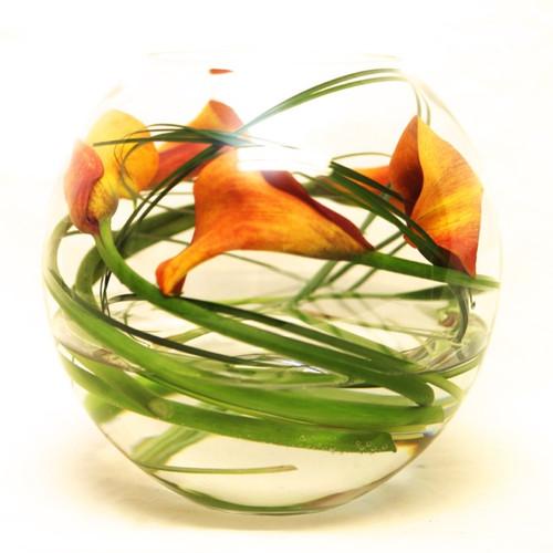 Eco Calla Lily Fishbowl