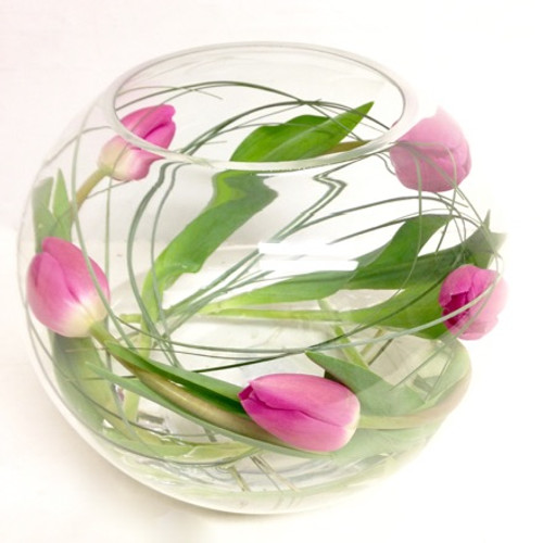 Eco  Friendly Tulip Fishbowl