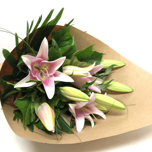 Eco Friendly Pink Oriental Lilies