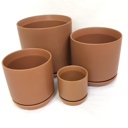Terracotta Pot and Saucer