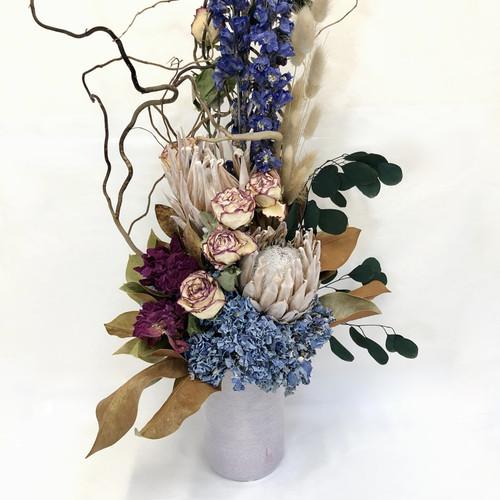 Delphinium Blue | Dried and Preserved Arrangement