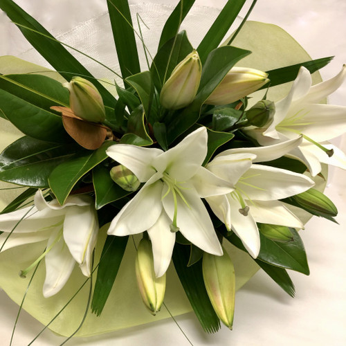 Classic White Lilies