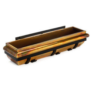 H Potter 36 inch copper window box
