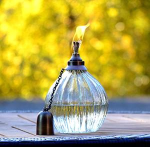 H Potter Tiki Torch Outdoor Garden Patio
