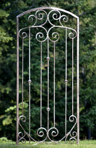 H Potter Trellis Garden Metal Iron Screen Yard Wall Art Wrought Iron Climbing Plants