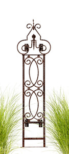 Wall Trellis, trellises, metal trellis, garden trellis,  Outdoor Decor, garden screen, wrought iron trellis