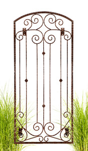 h potter trellis iron metal wall art yard patio deck garden climbing plants