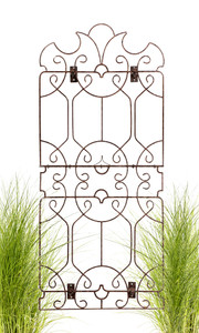 H Potter Wrought Iron Trellis Screen wall trellis for outdoors