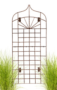 H Potter outdoor wall art trellis iron H Potter Wall Trellis trellises metal garden Outdoor Decor screen wrought iron vine ivy pot  rose patio wire tomato wedding planter decoration small vegetable lattice large privacy Moroccan scroll flower tall spiral