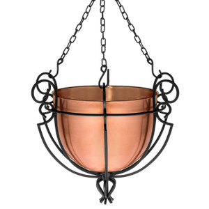 H Potter hanging planter