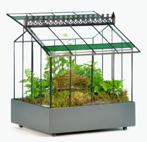 H Potter Terrarium Wardian Case Glass Plant Container