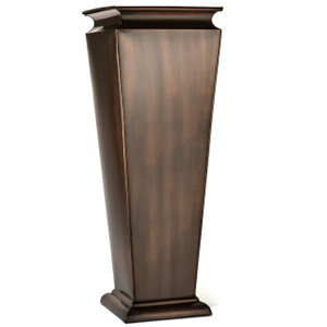 H Potter tall metal planter indoor outdoor