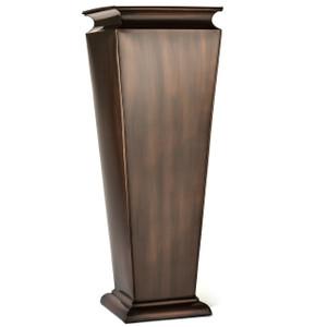 H Potter tall metal planter indoor outdoor