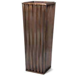 Tall Outdoor Planter for Garden, Patio, Deck, Balcony