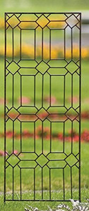 wrought iron trellis metal scroll garden panel screen vines flower wedding arch h potter outdoor lawn patio deck gift arbor obelisk pot indoor archway yard rustic wall art climbing plants ivy topiary home decor plant planter fence lattice housewarming