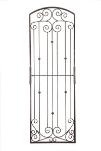 8 foot tall iron trellis H Potter heavy duty