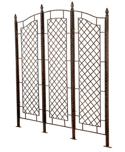 large garden trellis privacy screen indoor outdoor iron trellises