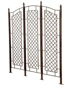 large garden trellis privacy screen indoor outdoor iron trellises