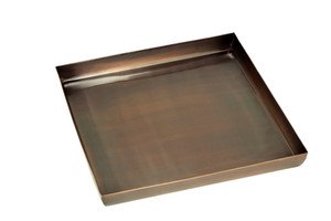 Drip Tray for GAR629A Antique Copper Large H Potter Planters Tall
