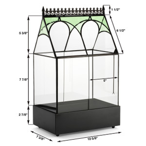 containers planter wedding gift indoor planter gift for mom glass wardian case table top center piece container flower box garden gift mothers day center piece side table gardener flowers herbs moss ferns christmas indoor garden