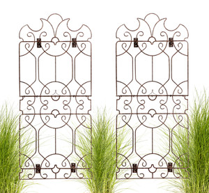 iron trellis wall art H Potter