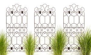 wall trellis art iron from H Potter garden