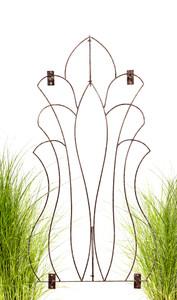 garden wall trellis iron metal H Potter