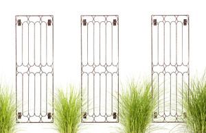 metal iron garden wall trellis