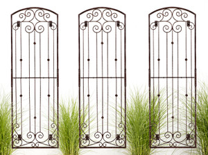 trellis 8 foot large tall iron garden wall trellis