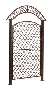 garden trellis iron heavy duty metal patio screen