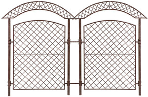 garden trellis screen h potter metal iron