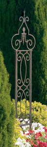H Potter Metal Garden Scroll Trellis